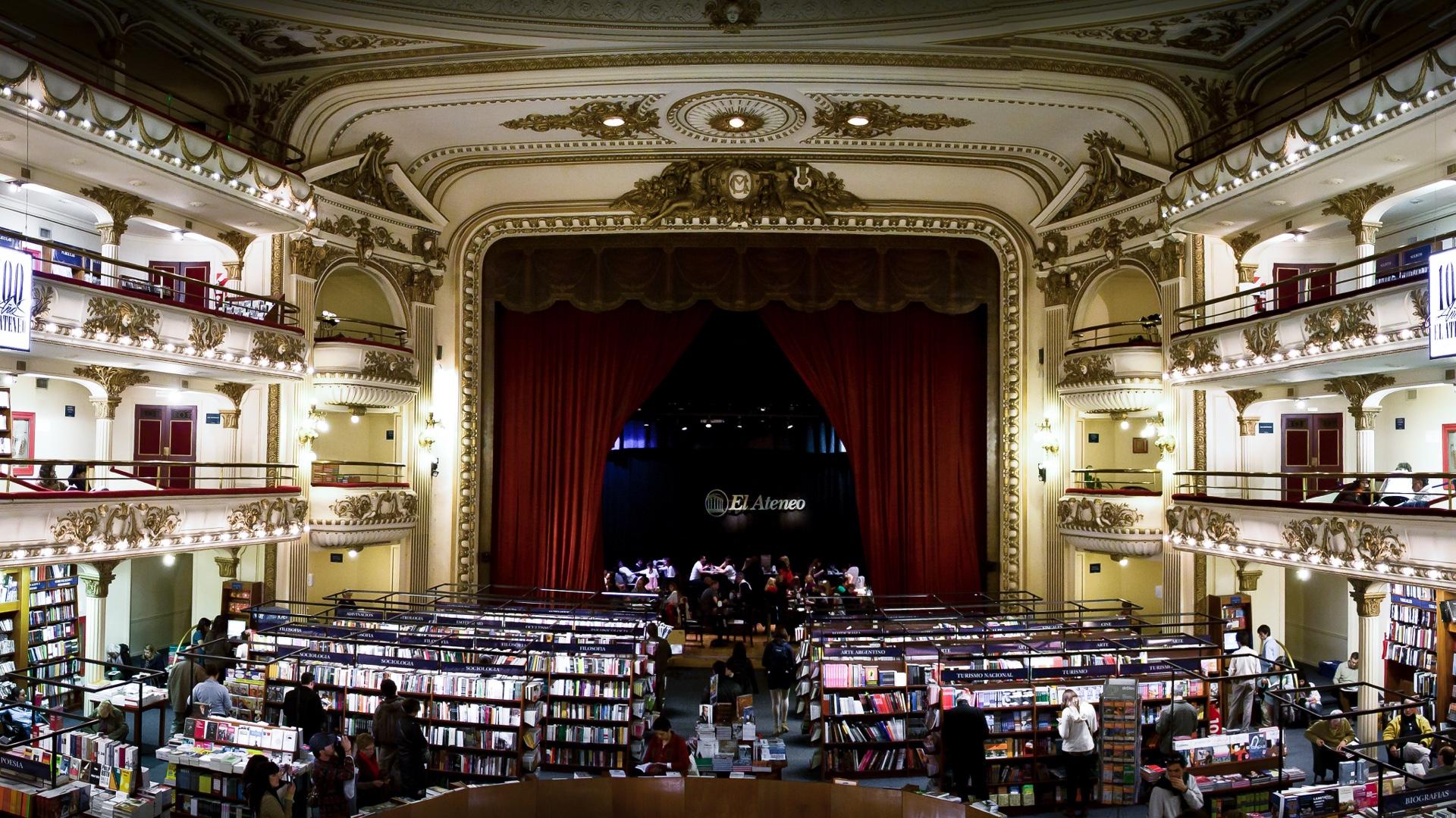 El Ateneo, a mais bela livraria do mundo